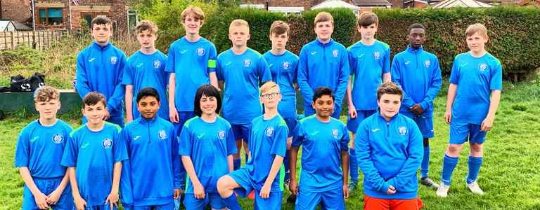FC Bury Vipers U14 team photo