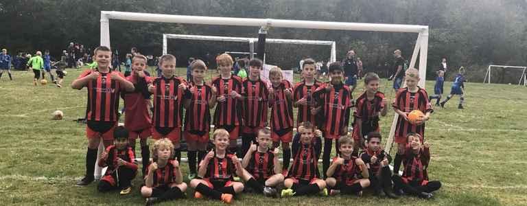 Finch Raiders U10 team photo