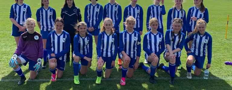 Flitwick Eagles Girls Under 15 team photo