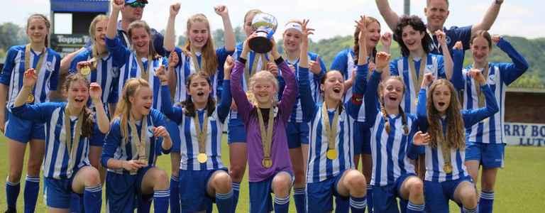 Flitwick Eagles Girls Under 16 team photo