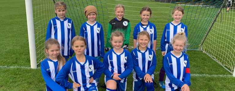 Flitwick Eagles U9 Girls team photo