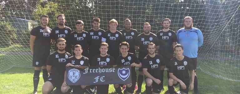 Freehouse FC Reserves team photo