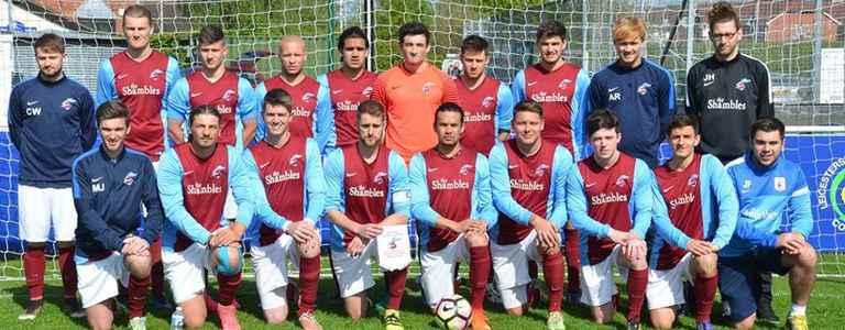 Frolesworth United F.C team photo