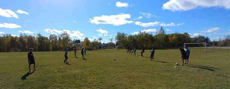 Gander Collegiate Boys Soccer team photo