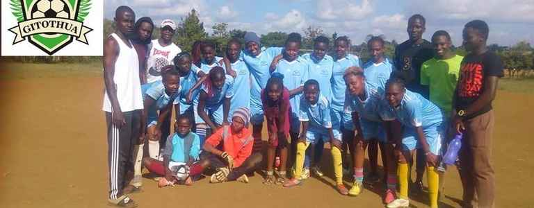 Gitothua Starlets Football Academy team photo