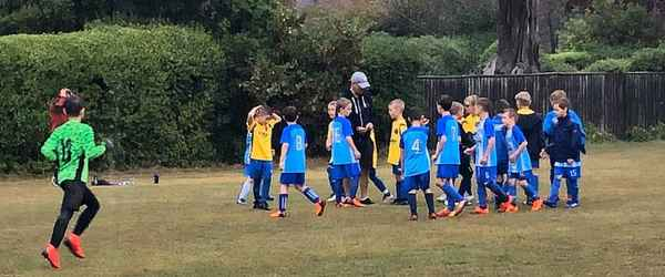 Match Report - MILFORD ON SEA YOUTH U9 - 22 Sep 2019