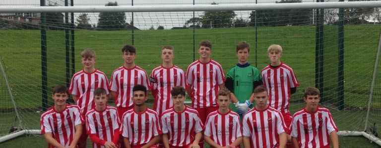 Heyside Juniors Reds U17s team photo
