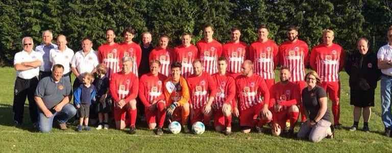 Ilsington Villa team photo