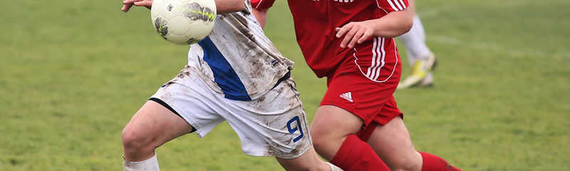 Eastham & District Junior & Mini Soccer Under 14 Division 2 action