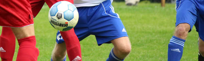Isle of Man FA Junior Football League Under 16 B action