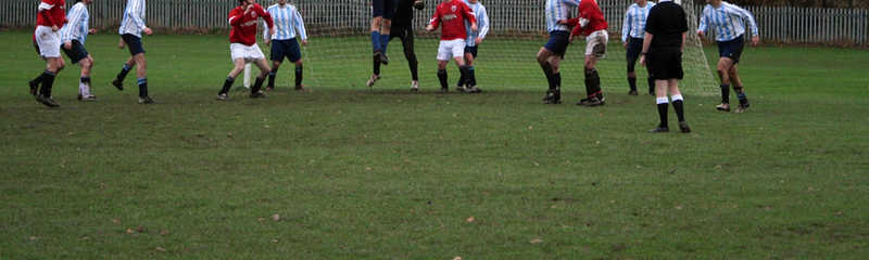 North Derbyshire Youth Football League U14 Division 2 action
