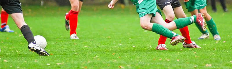 Yeovil Minisoccer League Autumn U10 Green action