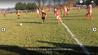 Screenshot of TeamStats : Video Play Mobile Landscape