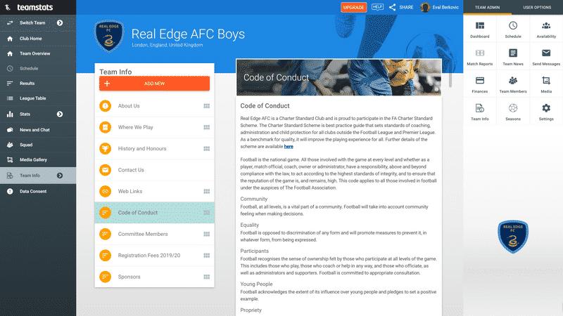 Screenshot of TeamStats : Custom Page Desktop?a=2