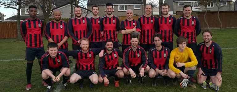 Inter Edinburgh team photo