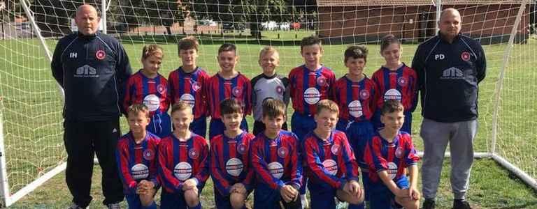 Kidderminster Athletic U12s team photo