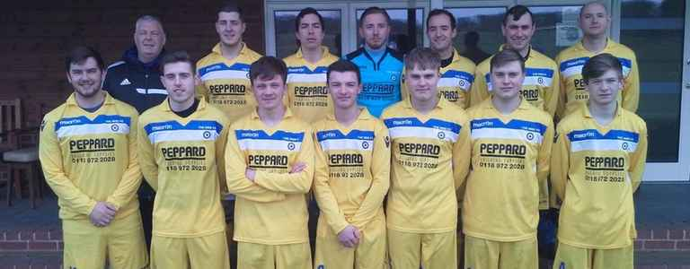 Kidmore End/the Mod FC team photo