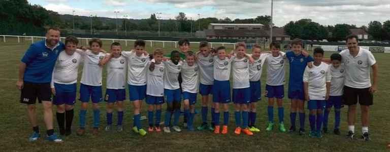 Kings Hill Colts U13 team photo