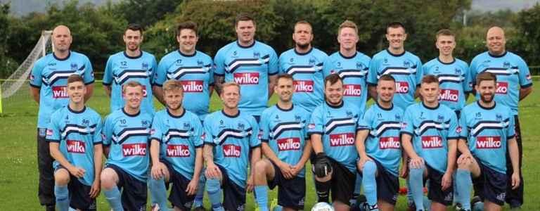 Kinmel Bay Football Club team photo