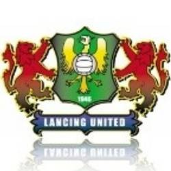 Lancing United 1st team badge