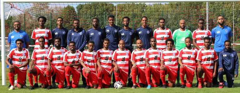 Leicester Atletico Reds FC team photo