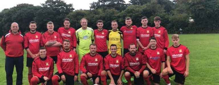 Llangennech AFC team photo