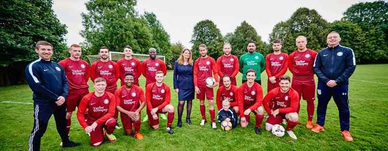 Long Itchington - Division 1A team photo