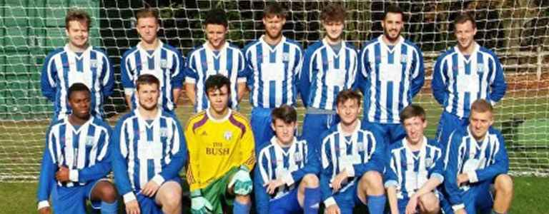 Lord Nelson FC - Division 2 team photo