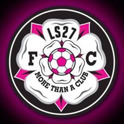 LS27 F.C U13 Black team badge