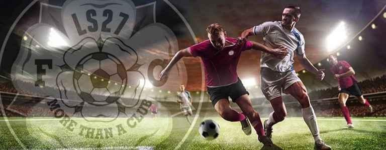 LS27 F.C U13 Black team photo