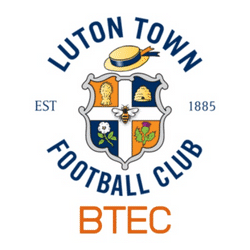 Luton Town BTEC team badge