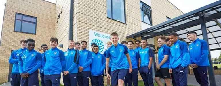 Luton Town BTEC team photo