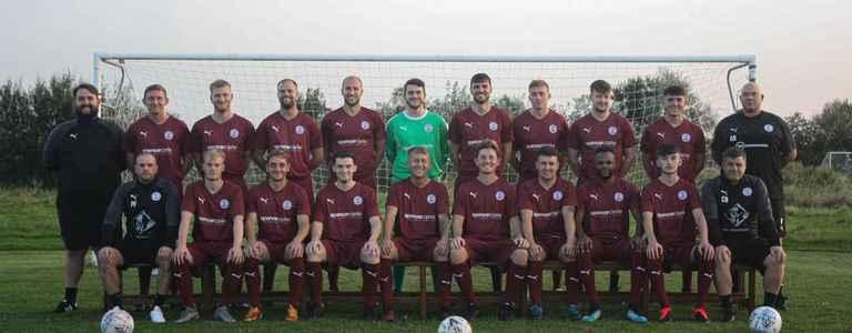 Lytham Town FC team photo