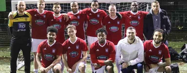 Magical Vegas FC team photo