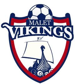 Malet Vikings U12 Whites team badge