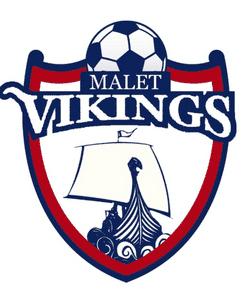 Malet Vikings VETS FC team badge