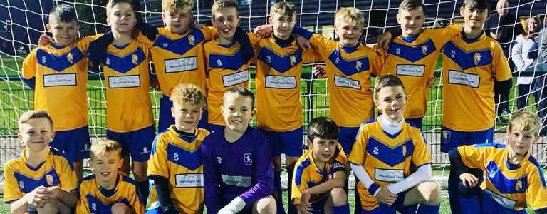 Mansfield Town U11 team photo