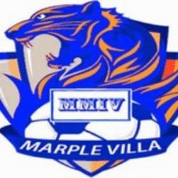 Marple Villa FC - Three team badge
