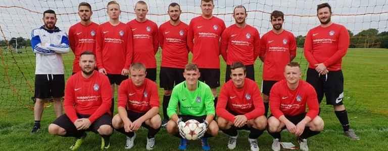 Marple Villa FC - Three team photo