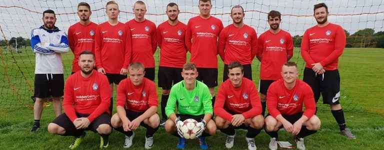 Marple Villa - Four team photo