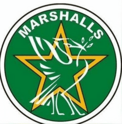 Marshall's Rosemont team badge