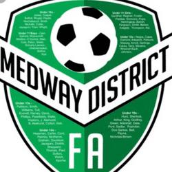 Medway District Under 11s team badge