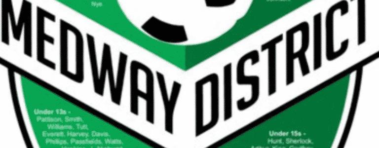 Medway District Under 11s team photo