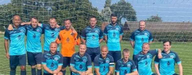 Mersey Clipper Vets team photo