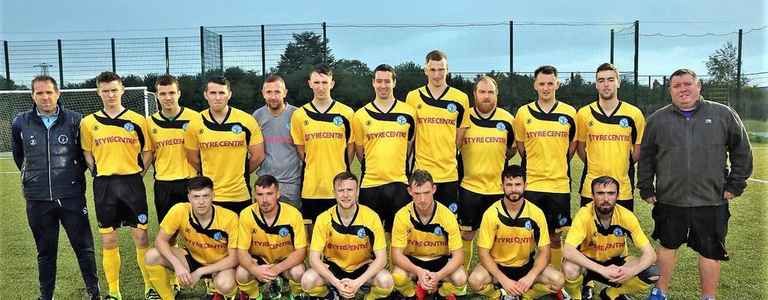 Moneymore FC team photo