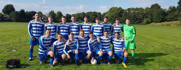 Moorside Rangers Reserves team photo