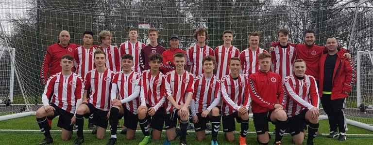 Mosborough U21 team photo