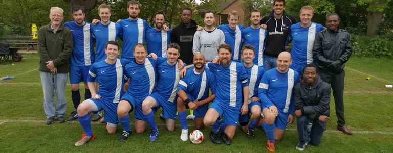Mott Macdonald FC Reserves team photo
