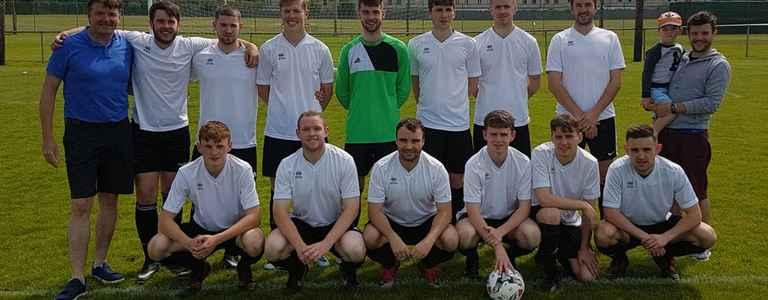 Naas AFC (Whites) team photo
