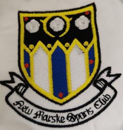 NEW MARSKE First team badge